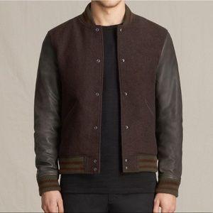 NWT All Saints buck bomber jacket